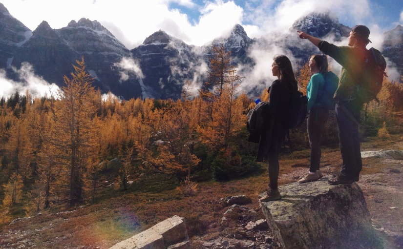 Moraine Lake Hikes : Intermediate