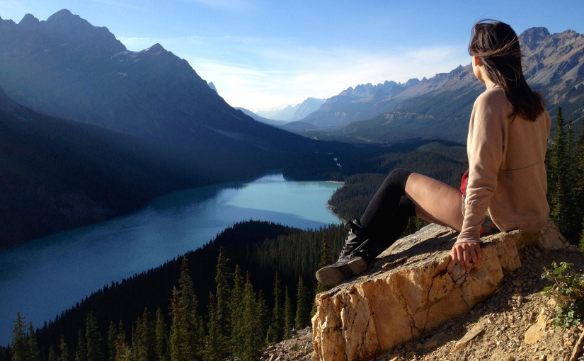 The Epic Icefield Parkway : Peyto Lake
